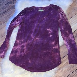 Earth Yoga medium tie dye top